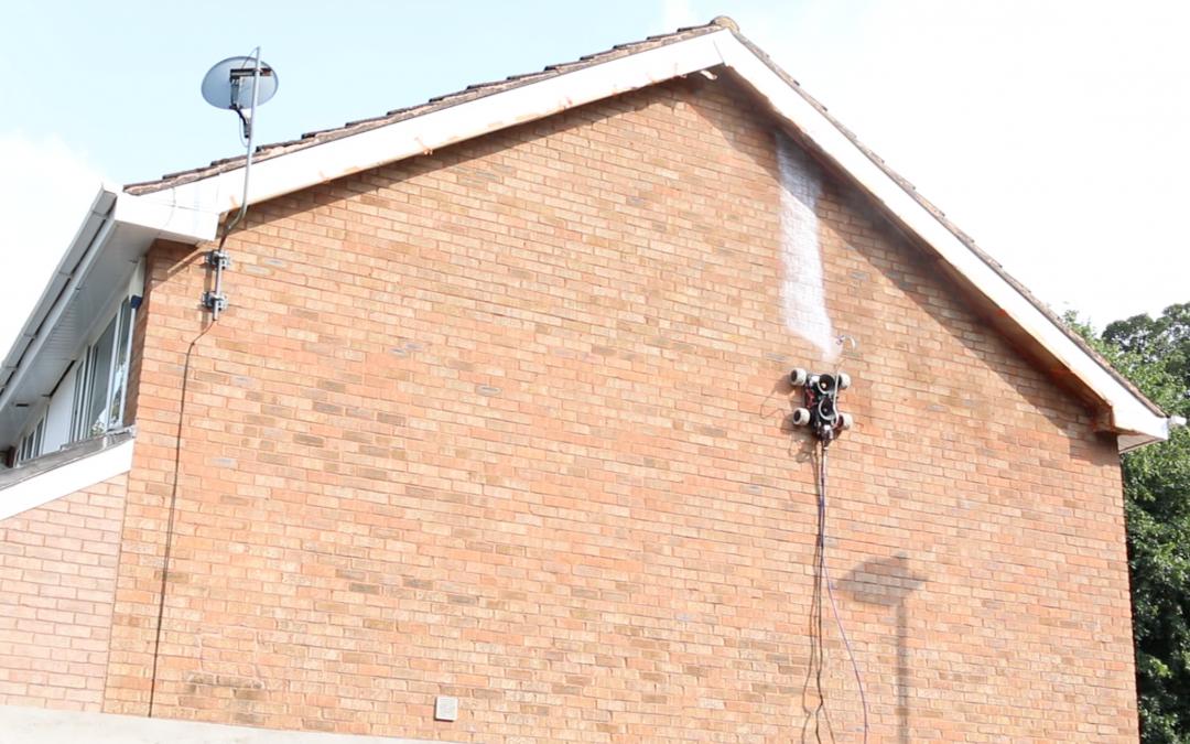 Wall painting robot stormdry masonry waterproof protection