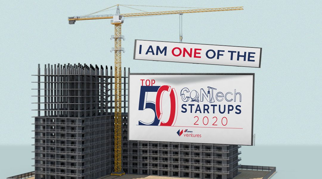 HausBots in Top 50 Construction Startups 2020